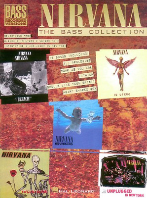 Nirvana: The Bass Guitar Collection Bass Recorded Versions
