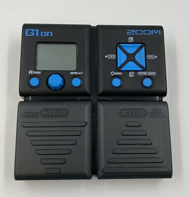 Zoom G1on Pedal No Power Lead  • 49.99£
