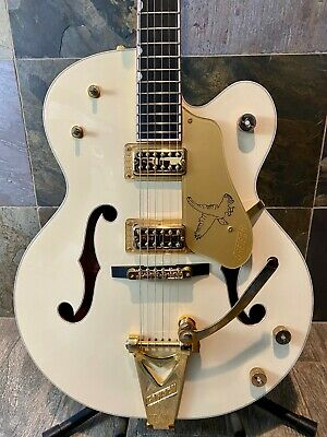 Awesome Gretsch G6136T-LTV Aged (Crème) White Falcon Bigsby OHSC (401)    • 2,448.43£