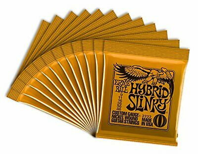 ERNIEBALL Electric Guitar Strings Ernie Ball Hybrid Slinky 12 Pcs Japan F/S NEW • 79.22£