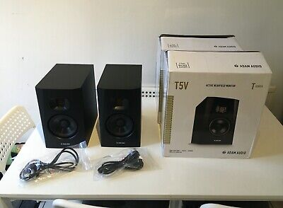 ADAM Audio T5V 5 Inch Nearfield Monitor Speaker X 2, Slightly Used. • 225£