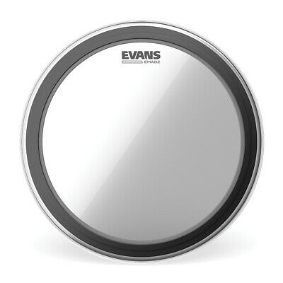 Evans EMAD2 Clear Bass Drum Head, 20 Inch - BD20EMAD2 • 33.84£
