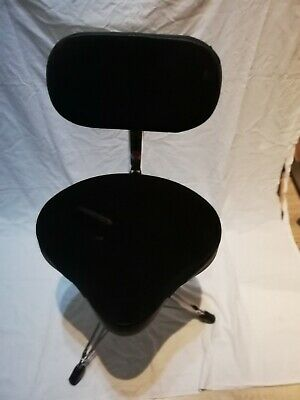 Gibraltar 9608MB Motorcycle Style Drum Stool Throne Seat With Backrest • 75£