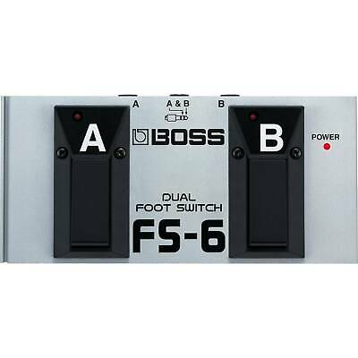 BOSS FS-6 Switchable Momentary/ Latch Dual A/B Footswitch • 69£
