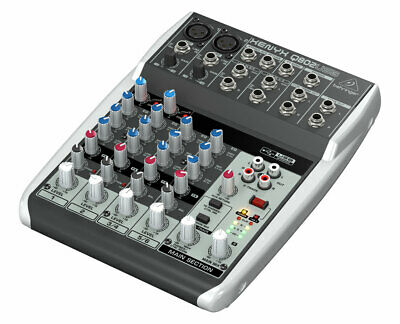 Behringer XENYX Q802USB 8-Input Mixer With USB/Audio Interface • 93.58£