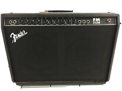 Fender FM 212R Twin Combo W/ Duel Spring Reverb Box (100W Electric Guitar Amp) • 80£