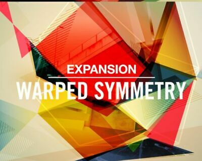 Maschine Expansion Warped Symmetry Native Instruments For MK3 MK2 Studio Mikro • 29.99£