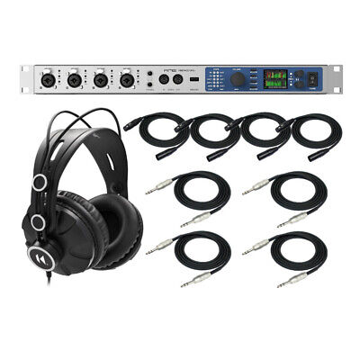 RME Fireface UFX+ Hi-Performance USB 3.0/Thunderbolt Audio Interface Bundle • 2,098.40£