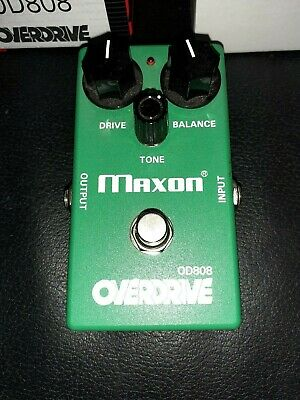 Maxon OD808 Guitar Effect Pedal, Tube Screamer, Boxed And Complete. • 100£