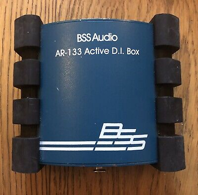 BSS Audio AR-133 Active Transformer DI Box, NOT WORKING SPARES OR REPARES. • 11.50£