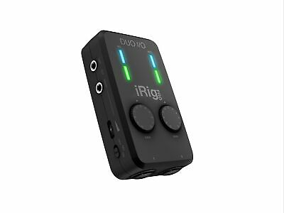 IRig Pro Duo I/O - Mobile 2-channel Audio/MIDI Interface,IP-IRIG-PRODUOIO-IN • 322.48£