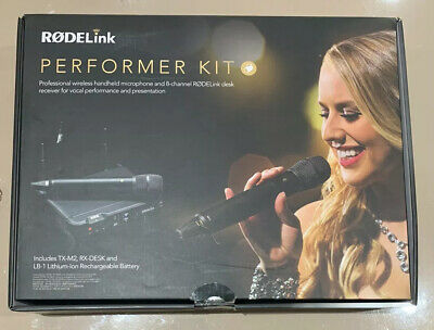 Rode Rodelink Performer Kit Microphone Wireless System • 200£