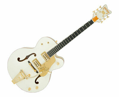 Gretsch G6136T-59 Vintage Select Edition '59 Falcon Hollow Body Vintage White • 2,959.15£