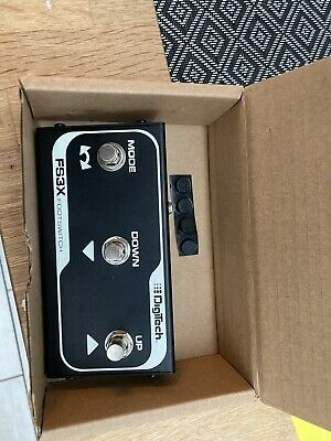 DigiTech FS3X 3-Button Footswitch For TRIO Band Creator & Guitar Effect Pedals • 20£