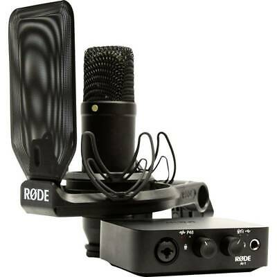 Interfaccia Audio RODE Microphones NT1/AI-1 Kit Controllo Monitor Il  NT1AI1-KIT • 463.01£