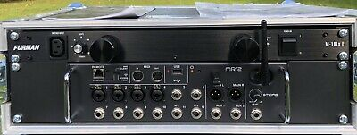 Midas MR12 Mixer And Furman Power Conditioner Flightcased Immaculate Condition • 150£