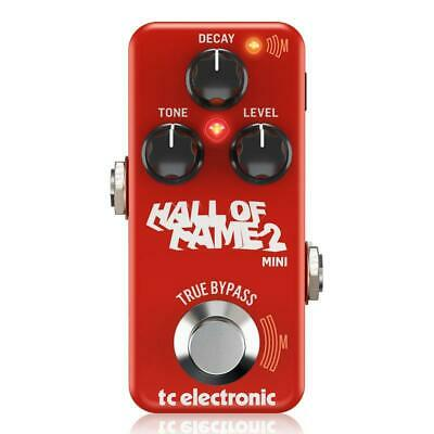TC Electronic Hall Of Fame 2 Mini Reverb Pedal • 92£
