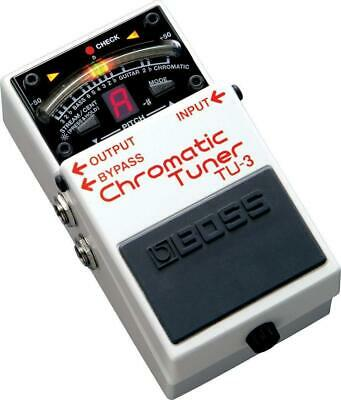 BOSS TU-3 Chromatic Tuner Guitar Effects Pedal New In Box • 82.01£