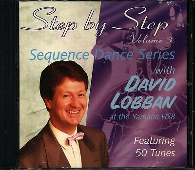 Step By Step Volume 3 Sequence Dance Series With David Lobban At The Yamaha HS8 • 2.99£