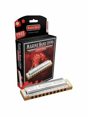 Hohner Marine Band Classic 1896 Diatonic Harmonica, All Keys • 32.73£