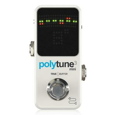 TC Electronic Polytune 3 Mini Tuner Pedal Built-In Buffer • 70.84£