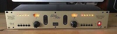 SPL Gold Mike 9844 Dual Valve Mic Pre - Light Use, Excellent Working Order • 195£