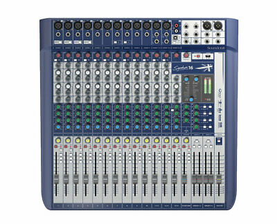 Soundcraft Signature 16-Channel Compact Analogue Mixer • 336.29£