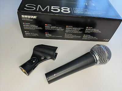 SHURE SM58-LC - Legendary Vocal Microphone • 30£