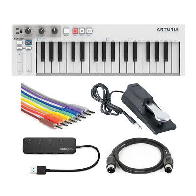 Arturia KeyStep Controller And Sequencer With Sustain Pedal & Accessories Bundle • 115.17£
