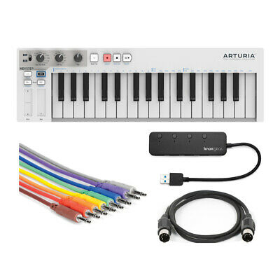 Arturia KeyStep Controller And Sequencer With Knox USB 3.0 Hub And Cables Bundle • 107.92£