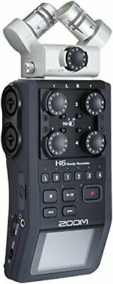 ZOOM Linear PCM/IC Handy Recorder H6 New Japan W/Tracking • 486.60£