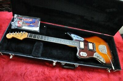 Fender Kurt Cobain Jaguar Mancino Raod Worn 3 Colore Sunburst • 2,066.21£