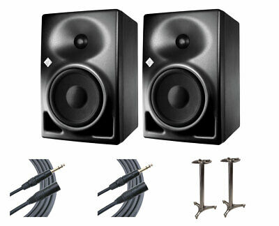 2x Neumann KH120A Active Speaker Monitors + MS-90/36B MKII + Mogami Cables • 1,029.38£