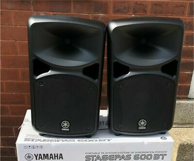 Yamaha STAGEPAS 600BT Portable PA System Stagepas600BT - Sounds Awesome! • 586.05£