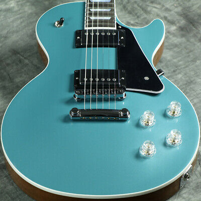 Gibson Usa / Les Paul Modern Faded Pelham Blue Top With Luxury Benefits • 3,056.19£