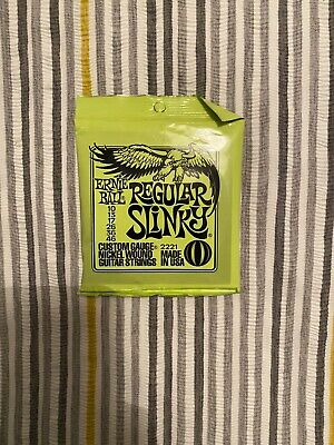 Ernie Ball 10-46 Regular Slinky Electric Guitar Strings • 5£