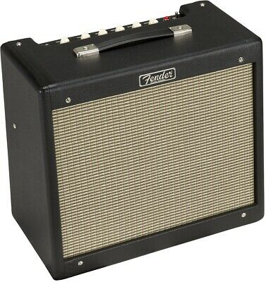 Fender Blues Junior IV 15-Watt 1x12  Guitar Combo Black • 434.15£