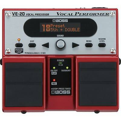 BOSS VE-20 Vocal Performer Vocal Effects Pedal • 218£