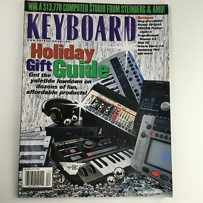 Keyboard Magazine December 2002 Holiday Gift Guide & Korg MicroKorg Review • 8.05£