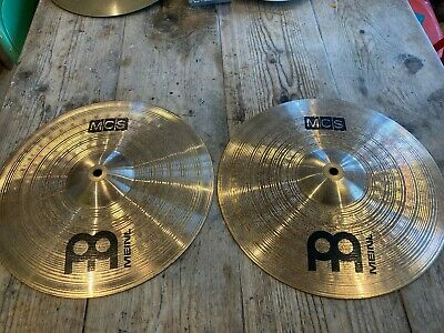 Meinl MCS Medium 14  Hi Hat Cymbals - Traditional Finish (USED/GOOD CONDITION) • 46£