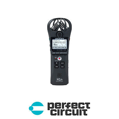 Zoom H1n Professional Field Recorder PRO AUDIO - NEW - PERFECT CIRCUIT • 86.22£