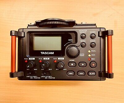 TASCAM DR-60D MKII LINEAR PCM RECORDER C/W BP-6AA External Battery Pack • 155£