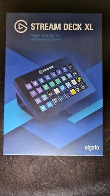 Elgato Corsair Stream Deck XL Keypad. Never Used. • 190£