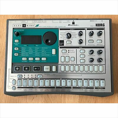 Used ES-1 KORG ELECTRIBE Sampler Drum Machine with adapter Operation confirmed