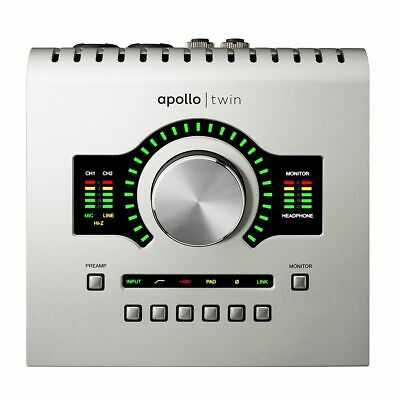 Universal Audio Apollo Twin USB With Duo DSP Processing For Windows Only • 529.05£
