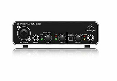 Behringer U-phoria Umc22 With Tracking Number New From Japan • 76.51£