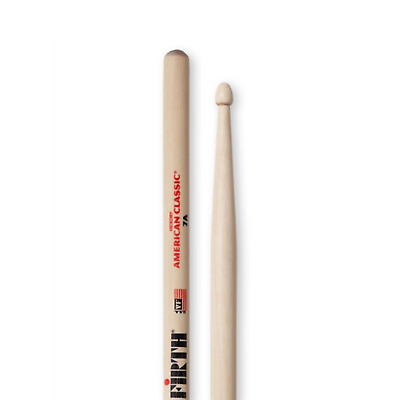 Vic Firth American Classic 5B Hickory Wood Tip Drumsticks  VF5BW • 8.69£