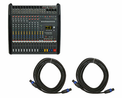 Dynacord PowerMate 1000-3 10-Channel Compact Power Mixer + 25' Speakon Cables • 2,152.98£
