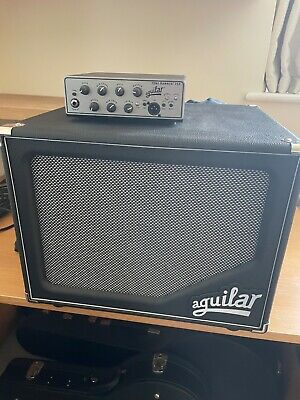 Aguilar ToneHammer 350 Head And SL112 Cabinet Bass Amp • 600£