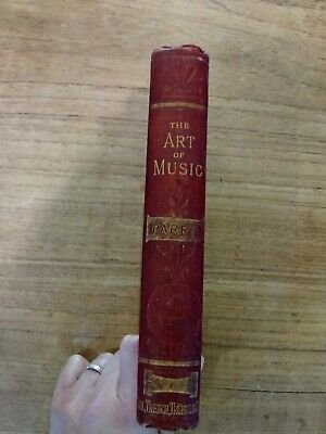 A Vintage The Evolution Of The Art Of Music Book